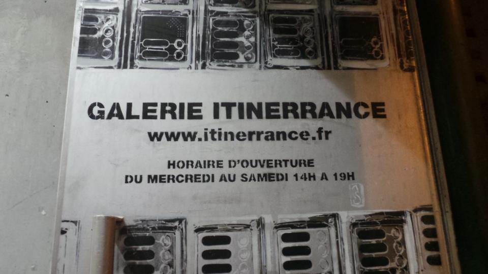 StreetArt, Sainer, Itinerrance, Paris, Sous le Ciel de Paris