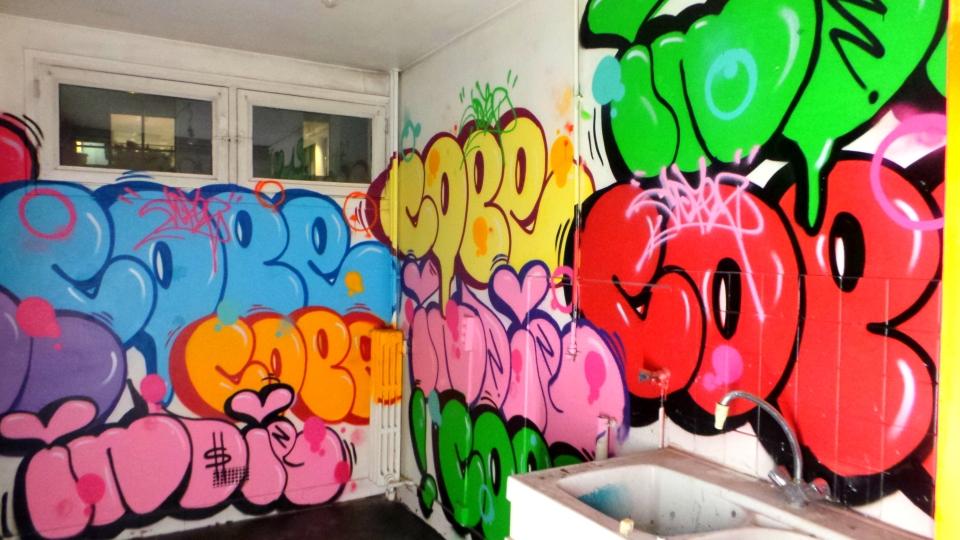 Cope2, Tour Paris 13, Street Art, Paris, Sous le Ciel de Paris