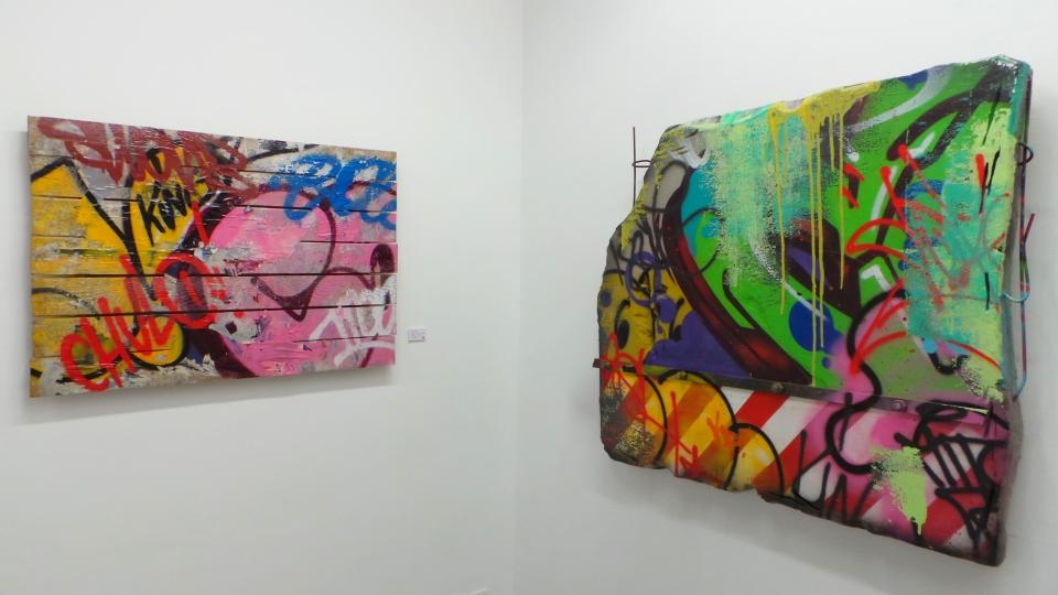 Cope2, Perseverance, Galerie Mathgoth, Sous le Ciel de Paris, Street Art