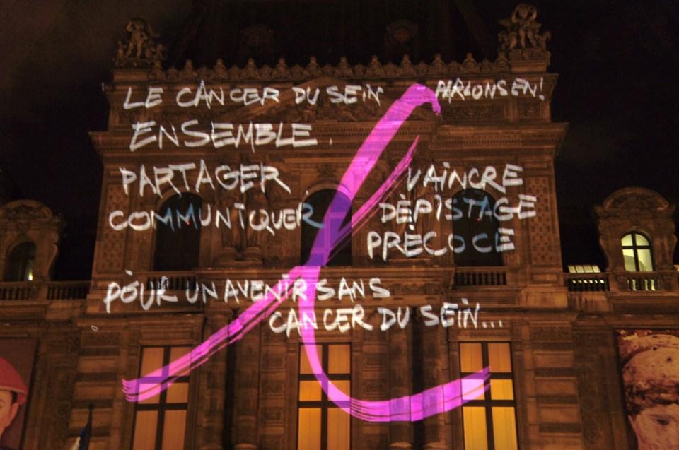 Yz, Thomas Canto, Octobre Rose, Ruban Rose, Paris