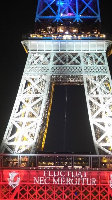 Tour Eiffel Bleu Blanc Rouge