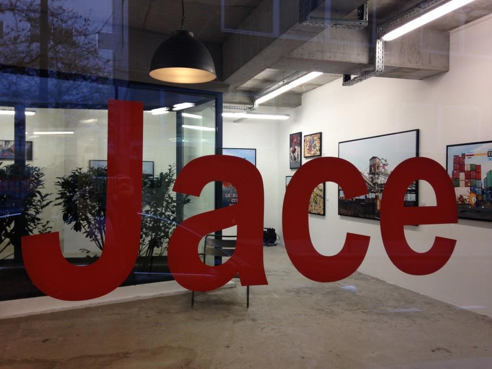 Jace, galerie Mathgoth, gouzou, street art, paris, la parigina, sous le ciel de paris