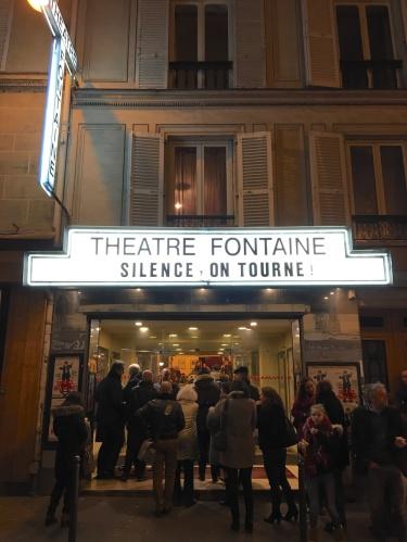 silence on tourne, théâtre fontaine, sous le ciel de paris, Patrick Haudecoeur